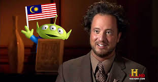 Alien Meme - why malaysia got no ufo wan we asked the alien meme guy