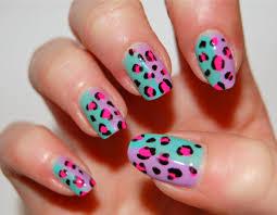 toe nail designs cheetah nail art design