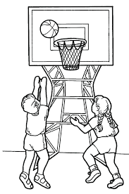 print printable basketball coloring pages pictures educations