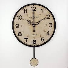 silent wall clocks silent large decorative wall clock modern design vintage round wall