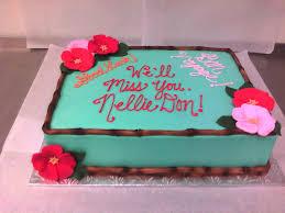 Tropical Themed Cake - hawaiian themed cake main made custom cakes
