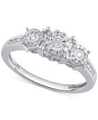 cheap diamond engagement rings for women diamond engagement ring 1 3 ct t w in 14k gold gold or