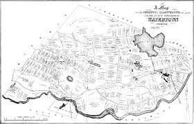 Lowell Massachusetts Map by Andover Historical Society Subject Matter Index Archaeology And