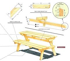 Folding Picnic Table Bench Plans Free by Outdoor Picnic Table And Bench Set Wooden Picnic Benches Wooden