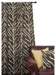 Zebra Curtain Panels Curtains Ideas Brown Zebra Curtains Inspiring Pictures Of