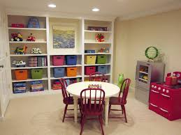 playroom table with storage cool playroom classroom ideas have round table four plastic chairs