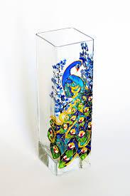 Hand Painted Vase Glass Painting Vase Designs Home Design U0026 Architecture Cilif Com