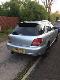 subaru evo modified subaru impreza 2002 for 1 250 00 uk cheap used cars