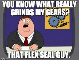 Gay Seal Meme Generator - peter griffin news meme you know what really grinds my gears