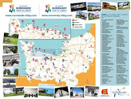 D Day Map Visit The D Day Landing Beaches Normandy Tourism France