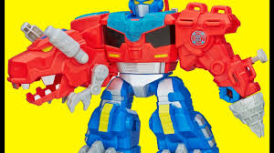 transformers 5 rescue bots chase bumblebee optimus prime robot car