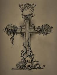 cross tattoo by faceofinsane on deviantart
