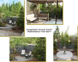 Create Privacy In Backyard Kennedy Real Estate Blog Edmonton Home Stager Blog Archive