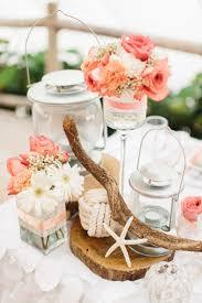 diy beach wedding centerpiece captivating beach wedding reception