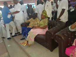 see photos of ibori his thanksgiving and welcoming
