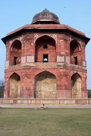 islamische architektur islamische architektur stockbild bild purana fort 7814357