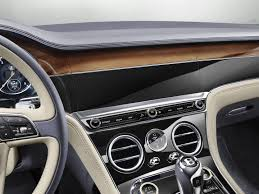 bentley gt3 interior official 2018 bentley continental gt gtspirit