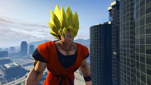 dragon ball goku gta5 mods