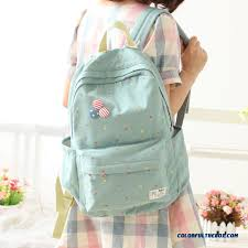 cheapest online high school cheap fashion canvas backpack girl junior high school students