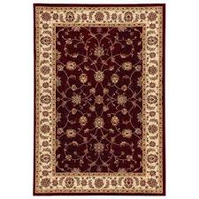 Red Black White Area Rugs Red 8 X 10 Oriental Area Rugs Rugs The Home Depot