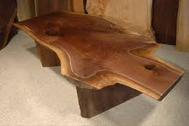rustic wood for sale the rustic wood coffee tables crotch slab custom table within for