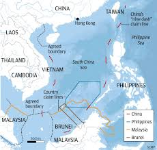 South China Sea Map by Showdown In The South China Sea How Ruling By Permanent Court Of
