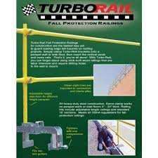 Temporary Handrail Systems Clamp On Steel Railing Systems