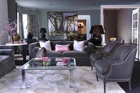 2012 gray purple living room inspiring new home scenery