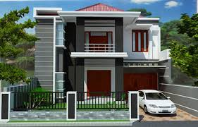 2 storey minimalist house design design house 2 floor minimalist with garden on roof