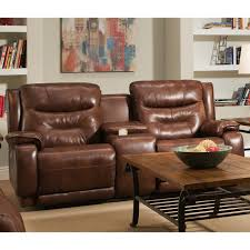 good reclining loveseat with center console 74 in home decorating