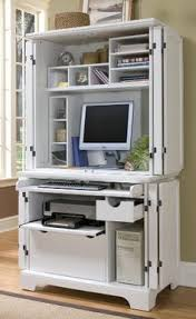 compact office cabinet and hutch naples white compact computer desk hutch by home styles by home