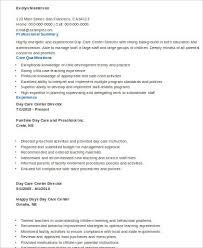 Sample New Teacher Resume by Daycare Teacher Resume 22 Cover Letter Sample Resume Daycare
