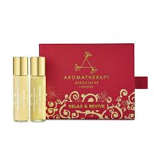 Christmas Gift Sets Aromatherapy Associates Relax And Revive Christmas Gift Set