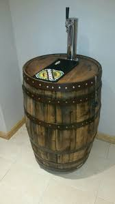whiskey barrel kegerator by piercesworkshop on etsy for the home