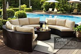 Patio Sectional Patio Furniture 45 Literarywondrous Circular Patio Sofa Picture