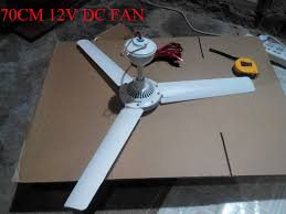 Solar Ceiling Fans by 2016 Wholesale 70cm 12v Dc Ceiling Fan Solar Ceiling Fan High