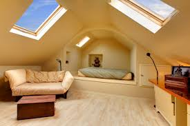 extraordinary attic kids bedroom design with bunk beds built in the best design and decoration of attic bedroom calming bedroom design ideas for small spaces