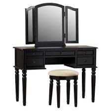 Dressing Vanity Table Furniture Of America Doris Solid Wood Vanity Table And Stool Set