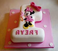 stylish minnie mouse 1st birthday cake concept best birthday