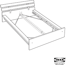 Assembling A Bed Frame Ikea Hopen Bed Frame King Assembly For Free