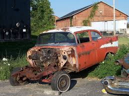 rusty car rusty old orange car with no front an old rusting orange c u2026 flickr
