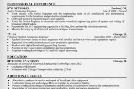 Producer Resume Examples by Sample Resume Broadcasting Television Reentrycorps