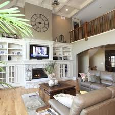 family room designs 12 best tall wall decore images on pinterest decorating ideas