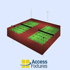 access fixtures launch led tennis court luminaires