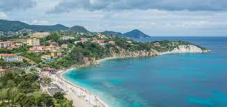 web le ghiaie ghiaie in porto ferraio elba island tuscany italy stock