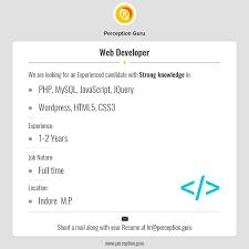 Resume Job Location by Perception Guru Linkedin