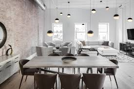 Tribeca Loft An Industrial Loft In Tribeca With A Monochromatic Palette