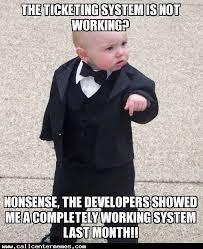 Not Working Meme - make it work call center memes