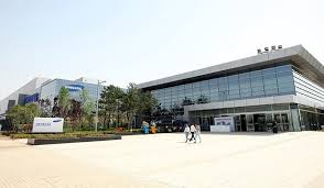 A Construction China And Semiconductors Samsung To Ground For Second Memory Line In Xian China 매일