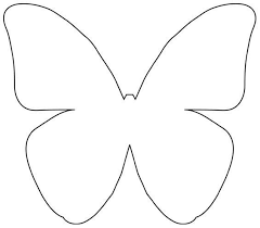 butterfly template create a mural 62 best butterflies images on